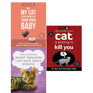 Why My Cat Is More Impressive, How to Tell If, One Hundred Secret 3 Books Set