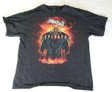 Vtg Mens Judas Priest 2012 Epitaph World Tour Heavy Metal Rock Tee T Shirt L