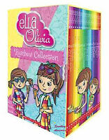 NEW Ella and Olivia: The Rainbow Collection 20 Books Set by Yvette Poshoglian!