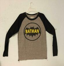 BATMAN ADULT SMALL LONG SLEEVE T SHIRT