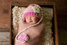 Unisex Floral Baby Hats