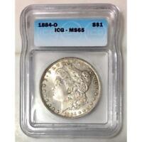 1884 O Morgan Dollar ICG MS65 #090779