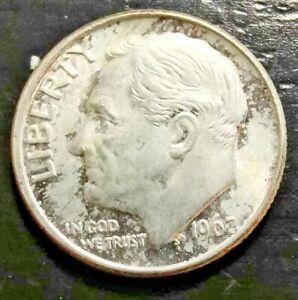 1962-P 10c Roosevelt Dime