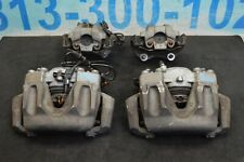 2014 W212 MERCEDES E350 SEDAN FRONT & REAR LEFT & RIGHT BRAKE CALIPERS SET OF 4