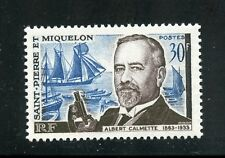 St. Pierre et Miquelon Complete MNH Single #366 Albert Calmette Stamp