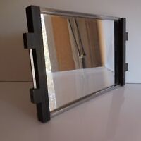 Plate Mirror Handmade Art Deco Design 20th Vintage Pn France N3046