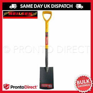 Carbon Steel Digging Shovel Heavy Duty Garden Spade Neilsen Lightweight Grip