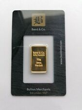 Baird and Co. 10g Gold Bar