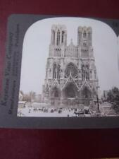 Stereo View Stereo Card - France Reims