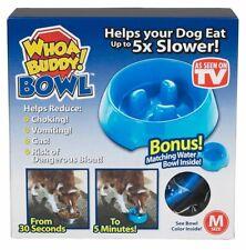 Whoa Buddy Bowl - Dog Food and Water Dish Set - Medium