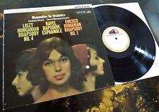 Liszt / Ravel / Enesco: Rhapsodies - Silvestri / VPO **HMV ASD 417 ED1 LP**