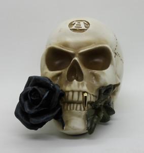 Black Rose Alchemist Skull Totenkopf Gothic Alchemy England Schädel