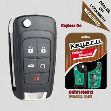 Keyless Entry Flip Key Remote Start OHT01060512 for Buick Chevrolet GMC Terrain