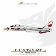 Calibre Wings CA721402 1/72 F-14A Tomcat VF-1 Wolf Pack NK100 Operation Frequent