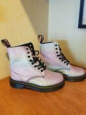 Dr Martens 1460 Pascal Glitter Boots NWOB SZ 6 37