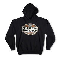 Harley-Davidson Hoodie sweatshirt Long Sleeves Men Woman Tel Aviv Israel Black