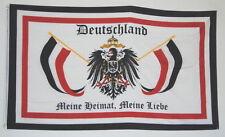 FLAGGE REICHSFLAGGE 1611 DEUTSCHES REICH MEINE HEIMAT MEINE LIEBE SAMMLER  FAHNE