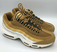 Nike Air Max 95 Mens Sz 6.5 Shoes Wheat White Celestial Gold  Women Sz 8.5 Rare