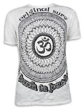 Sure señores t-shirt-solar-flores mandala Goa yoga Lotus-flor símbolo om M L XL