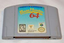 .Bass Hunter 64 (Nintendo 64 , 1999) (B25)