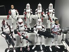 Star Wars Clone TVW Coruscant Guard Thire Commander Ponds RYS Army Trooper Lot
