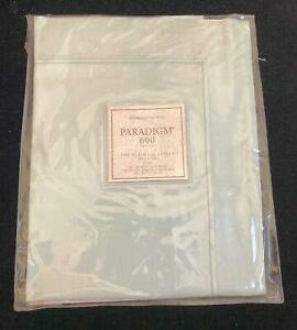 NWT Restoration Hardware Sage Paradigm 600 Boudoir Sham Egyptian Cotton $39