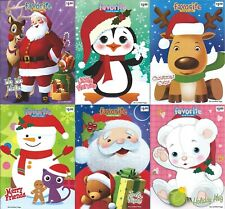 Lot of 6 Coloring Books Christmas Favorites 48 Page Children Boy Girl Kids