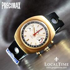 NOS 1960's PRECIMAX PXP [Swiss] Ref. 1004 Chronograph Watch Valjoux Cal. 7733