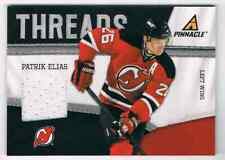 2011-12 PINNACLE THREADS PATRICK ELIAS JERSEY 1 COLOR NEW JERSEY DEVILS #72