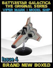 Eaglemoss Battlestar Galactica Classic Viper Mark 1 Ship - Issue 4 - New Boxed