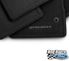 2020 Ford Explorer OEM Genuine Ford Black Carpeted Floor Mats - 4 Piece Set