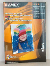 EMTEC PBI80E2 EVERYDAY PHOTO PAPER GLOSSY BRILLANT A4  180G 100 FOGLI