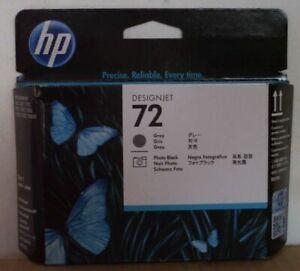 HP 72 Printhead C9380A grau photo bk Designjet T 610 620 770 1100 1200 OVP 2015
