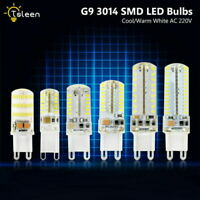5/6/7/9W G9 Warm Cool White 3014 SMD Led Corn Lamp Ultra Bright Silicone Crystal