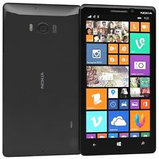 Nokia Lumia 930 32gb 2gb 20Mp Cámara Liberado Negro Windows 10 LTE Smartphone