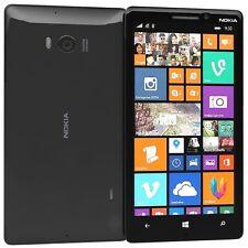 NOKIA LUMIA 930 32gb 2gb 20 Mp Camera Unlocked Black Windows 10 Lte Smartphone