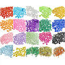 1000 Crystal Acrylic Rhinestones Beads Gems 1mm 2mm 2.5 3mm 4mm 5mm 6mm DIY Lot