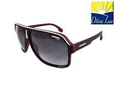 Carrera Occhiali da sole 1001/s BLX 9o Bianco Nero Rosso Grigio scuro Gradienti