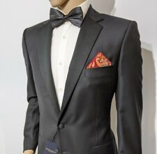 BNWT Gieves & Hawkes Savile Row Slim Fit Tuxedo Satin Dinner Jacket 44L RRP £695