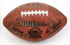 Authentic Official 1995 Super Bowl XXIX Signed Football