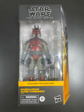 STAR WARS BLACK SERIES MANDALORIAN SUPER COMMANDO THE CLONE WARS (IN-HAND)?