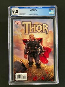 Thor #10 CGC 9.8 (2008) - Coipel cover & art
