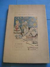 NEEL VOYAGE DE PARIS A ST-CLOUD PAR MER 1884 Illustré JEANNIOT Petit Tirage