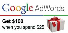 $100 USD GOOGLE ADWORDS PROMO CODE 2017 USA. $100 ADVERTISING CREDIT! SALE!