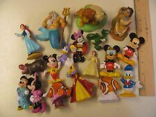 Lot of Disney Pixar PVC Cake Toppers Toys Figures Plastic