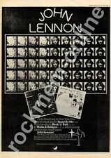 John Lennon The Beatles Stand By Me R6005 MM5 '45 Advert 1975