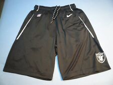 Nike Fly XL 5.0 Oakland Raiders MEDIUM BRAND NEW Shorts NWT NFL Football dri  fit 7246b3ed2