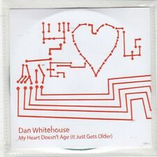 (GQ718) Dan Whitehouse, My Heart Doesn't Age - 2012 DJ CD