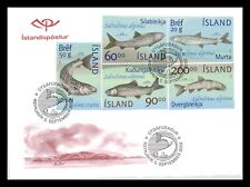 Iceland 2002 FDC, The Fauna in Thingvallavatn, Lot # 3.