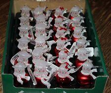 2002 ROMAN JINGLE BUDDIES MOM, DAD, GIRL, BOY SET OF 24 NIB RED & WHITE